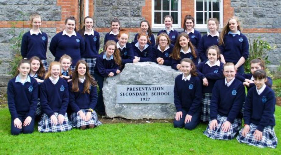 Presentation castleisland secondary schoolpres hosts poetry aloud.